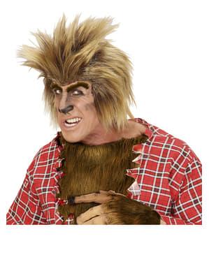 Pánská paruka vlkodlak blond