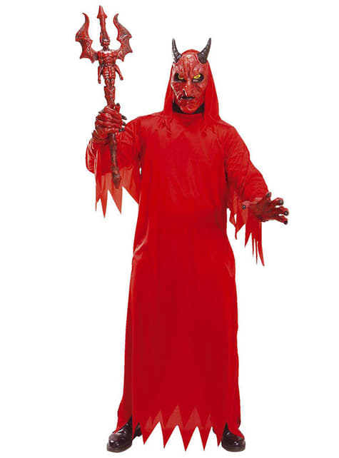 Disfraz de diablo infernal para adulto