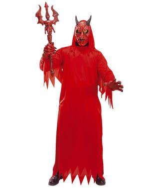 Strój piekielny diabeł dla dorosłych