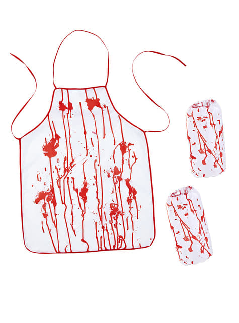 Bebloede slager set