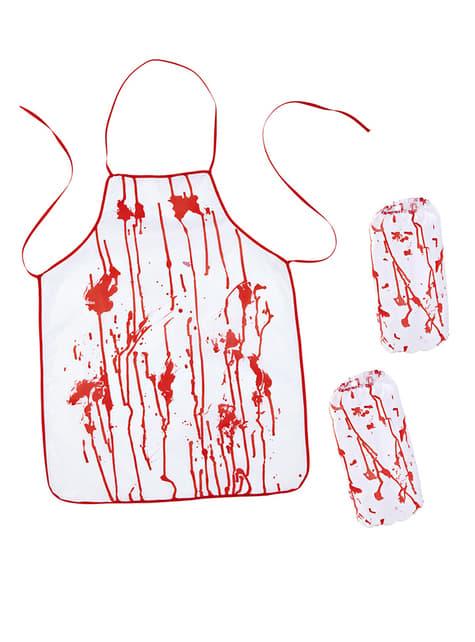Bloody Killer Butcher Costume Kit