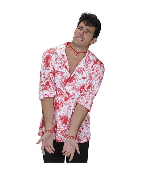 Collar de sangre gota a gota - para tu disfraz