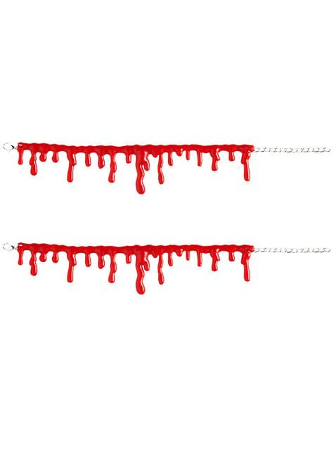 Bransoletki z kropel krwi