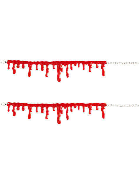 Drop by Drop Blood Bracelets