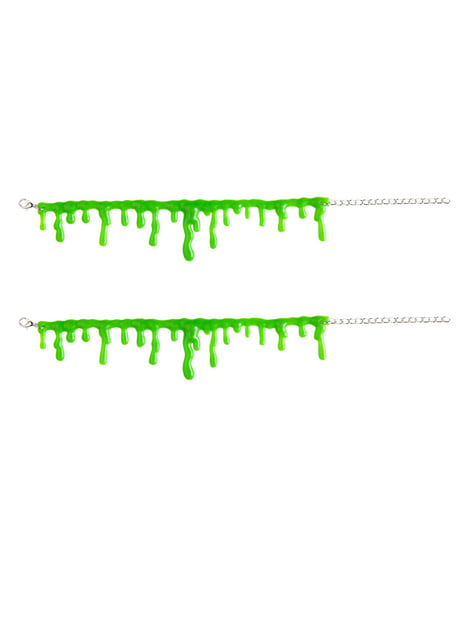 Set of two bracelets with chemical substance