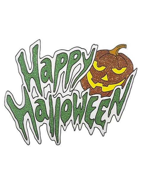 Autocolante para janela Happy Halloween
