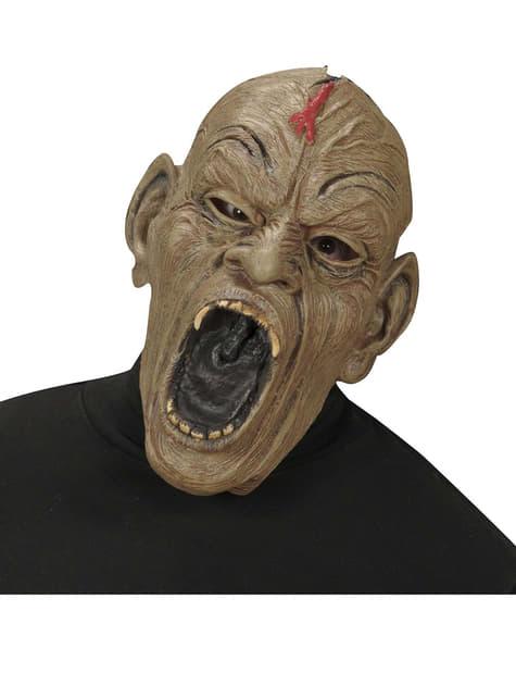 Aggressieve zombie masker