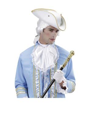 Λευκό καπέλο Tricorn