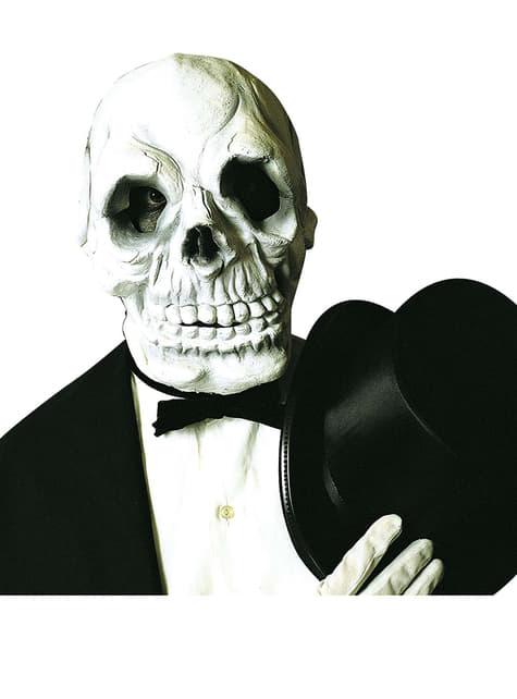 Máscara de calavera espeluznante