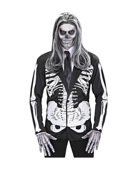 Déguisement de monsieur squelette pour homme