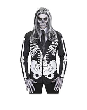 Fato de senhor esqueleto para homem