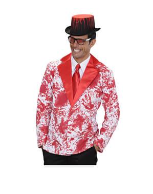 Bloedige jas voor mannen