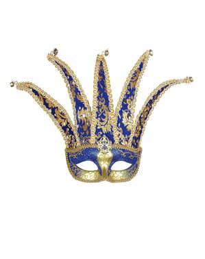 Máscara veneziana de arlequim