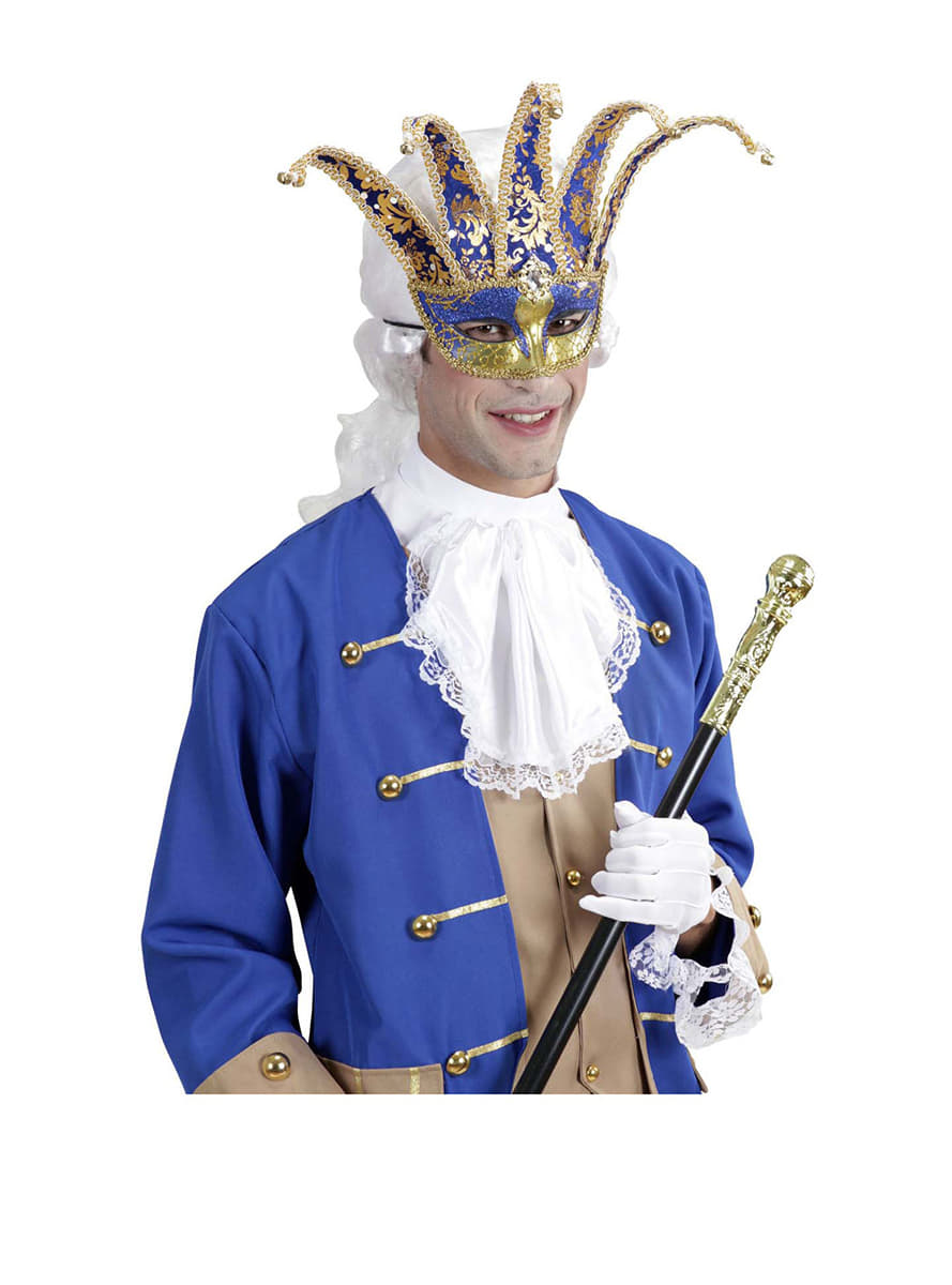 venetian jester masquerade mask  fast delivery