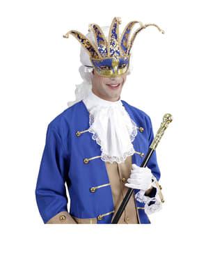 Mască de arlequin venețian