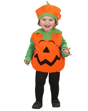 Costume da zucca felice infantile
