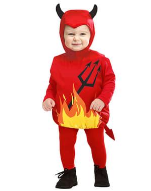 Liten djävul maskeraddräkt för barn