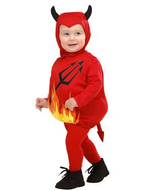 Fato de diabinho infantil
