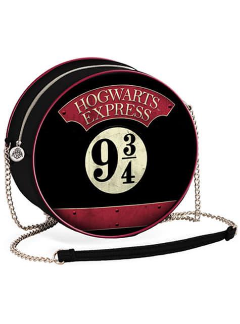 Mala a tiracolo redonda de Harry Potter Plataforma 9 e 3/4