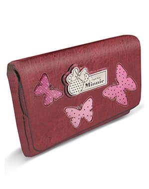 Portefeuille Minnie Mouse avec porte-monnaie amovible rouge - Disney