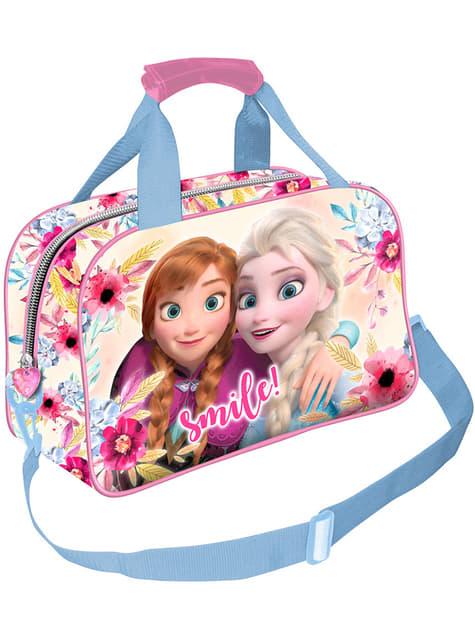 Saco de desporto Frozen Anna e Elsa para menina