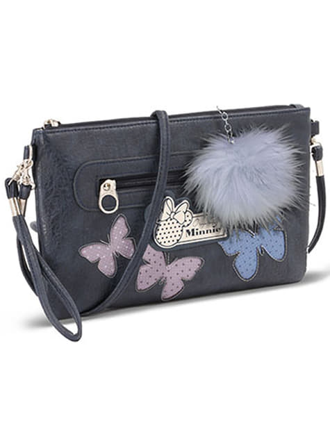 Minnie Mouse Butterfly Rectangular Shoulder Bag - Disney