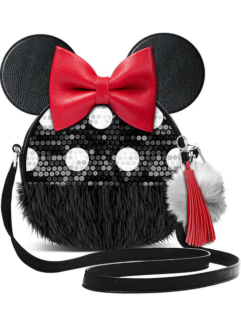 Minnie Mouse Round Crossbody Bag with Ears - Disney