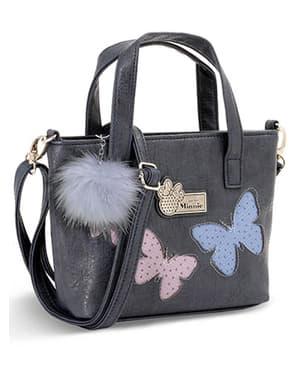 ryggsäck Mimmi Pigg med fjärilar grön liten - Disney