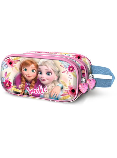 Frozen Federmappe mit zwei Reißverschlüssen - Disney