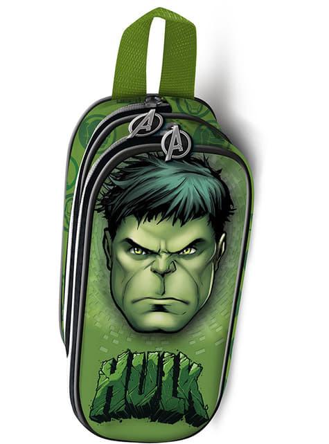 Estuche de dos cremalleras Hulk – Los Vengadores