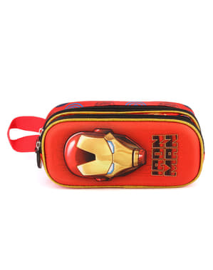 Iron Man pencil case with two zips