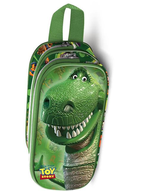 Estuche de dos cremalleras Toy Story Rex – Disney