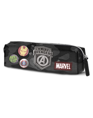 The Avengers Camouflage Pencil Case