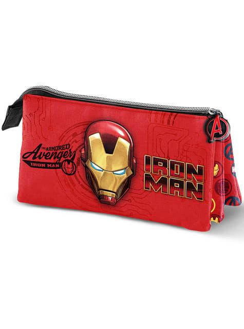 Estuche de Iron Man con tres compartimentos – Los Vengadores