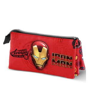 Pennfodral Iron Man med tre fack – The Avengers