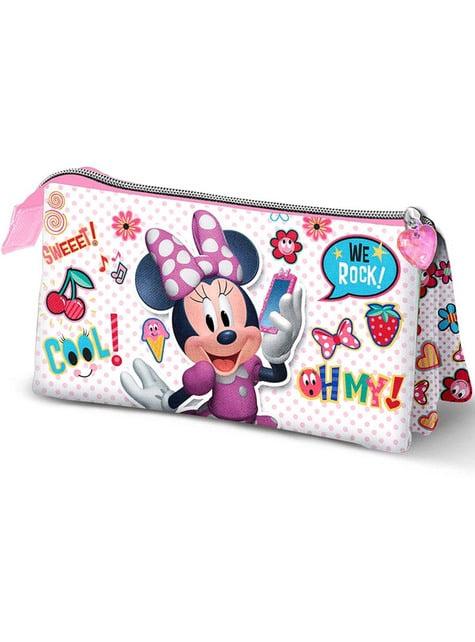 Piórnik Myszka Minnie 3 przegródki - Disney