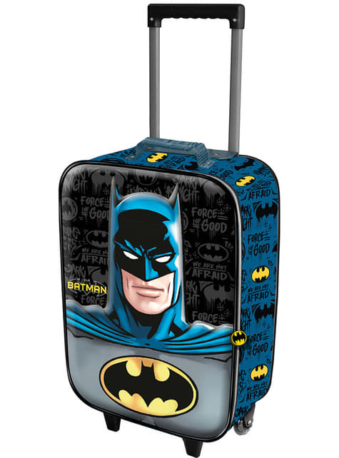 Batman 3D Trolley Backpack