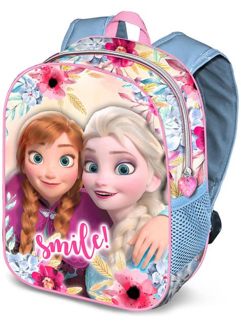 Mochila 3D infantil de Frozen pequeña - Disney