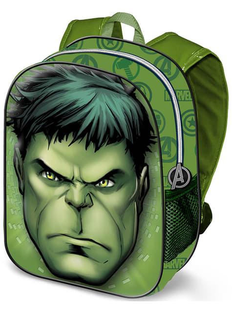 Mochila 3D infantil de Hulk pequeña
