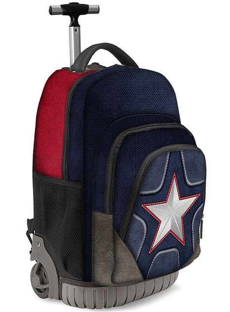 Mochila con ruedas de Capitán América