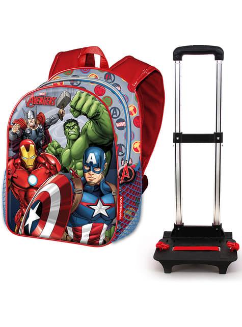 3D batoh na kolečkách The Avengers