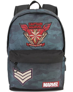 Captain Marvel Camouflage Backpack