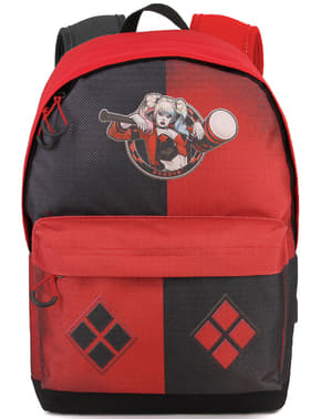 Harley Quinn Urban Backpack with USB Port - DC Comics