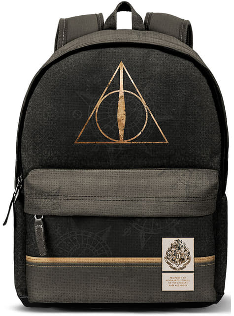 Harry Potter and the Deathly Hallows Logo Backpack