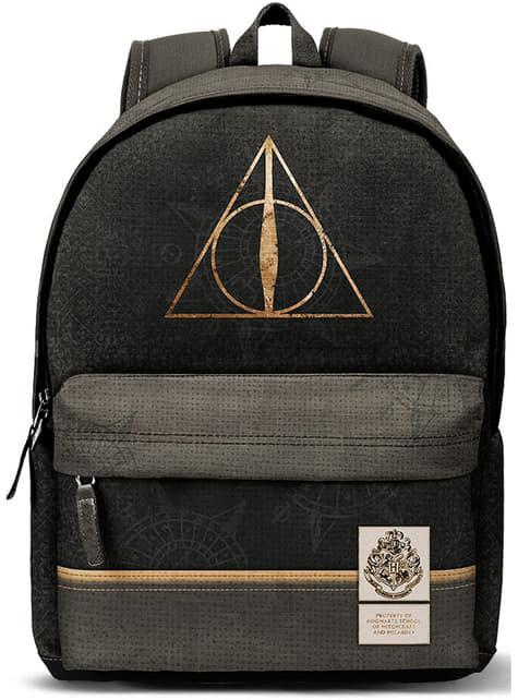 Mochila de Harry Potter y Las Reliquias de la Muerte logo