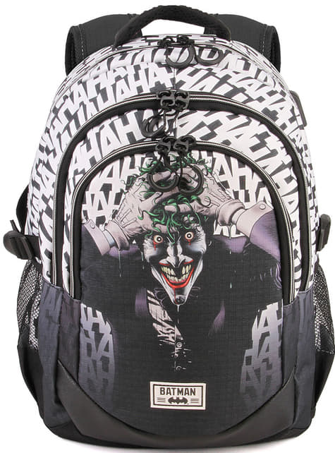 Sac à dos Joker avec port USB - DC Comics