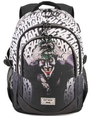 Joker Backpack with USB Port - DC Comics