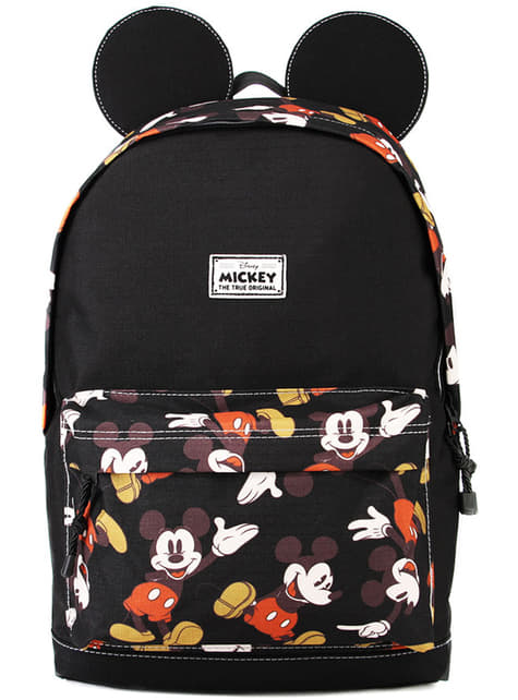Sac à dos Mickey Mouse noir avec oreilles - Disney