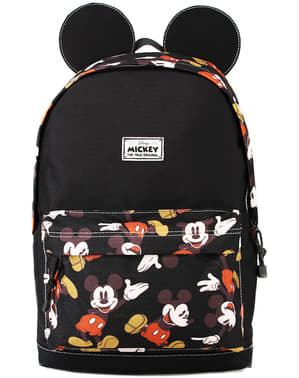 Mochila de Mickey Mouse negra con orejas - Disney