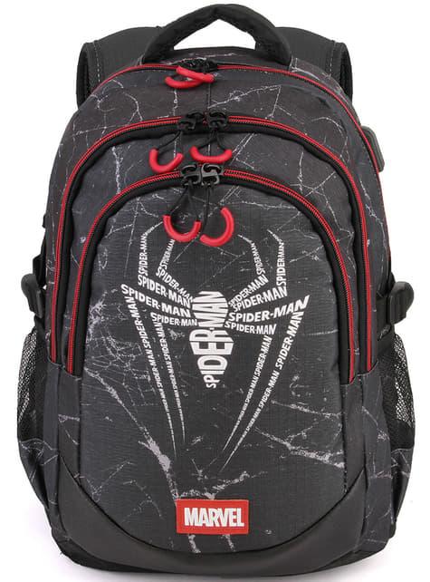 Spiderman Rucksack mit USB-Ladeanschluss